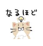 4匹の猫にあれこれ言ってもらうスタンプ 2(個別スタンプ:15)