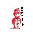 クリスマス(水彩)(個別スタンプ:04)
