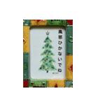 クリスマス(水彩)(個別スタンプ:05)