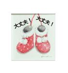 クリスマス(水彩)(個別スタンプ:06)