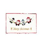 クリスマス(水彩)(個別スタンプ:11)