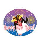 NEW YEAR 2019〜イワトビペンギン(個別スタンプ:07)