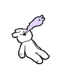 すこぶるウサギ【毎日使える2】(個別スタンプ:35)