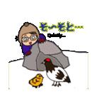 冬の富山弁母さん(個別スタンプ:36)
