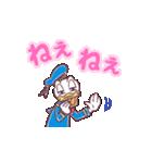 ドナルド&デイジー(デカ文字)(個別スタンプ:05)