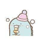 すみっコぐらしの冬スタンプ(個別スタンプ:01)