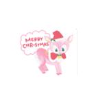 動くクリスマス正月誕生日sugarmoon(個別スタンプ:02)
