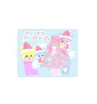 動くクリスマス正月誕生日sugarmoon(個別スタンプ:03)
