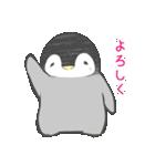 1番かわいい皇帝ペンギンのペンペン♪(個別スタンプ:24)