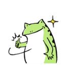 ほんのり鳥獣戯画〜カエルの日常編〜(個別スタンプ:31)