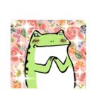 ほんのり鳥獣戯画〜カエルの日常編〜(個別スタンプ:33)