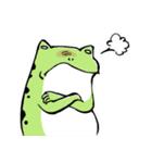 ほんのり鳥獣戯画〜カエルの日常編〜(個別スタンプ:34)