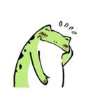 ほんのり鳥獣戯画〜カエルの日常編〜(個別スタンプ:36)