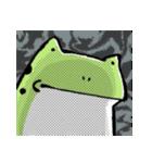 ほんのり鳥獣戯画〜カエルの日常編〜(個別スタンプ:38)