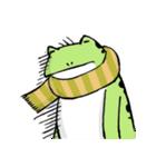 ほんのり鳥獣戯画〜カエルの日常編〜(個別スタンプ:39)
