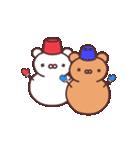 シロクマとクマ(個別スタンプ:18)