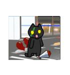 ぬこ爆発!第2弾 ~黒いひとつ星~(個別スタンプ:09)