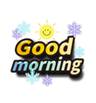 お正月の超でか文字スタンプ(2019年賀状)(個別スタンプ:29)