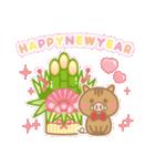 ☆2019年☆正月いのししスタンプ2(個別スタンプ:01)