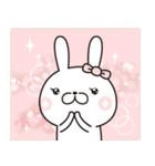 【New!!】お嬢様うさぎ♡第4弾(個別スタンプ:37)