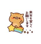 亥年!あけおめイノシシくん(個別スタンプ:18)