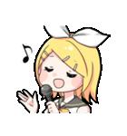 初音ミク/鏡音リン/鏡音レン(個別スタンプ:02)