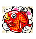 わんコロン 【冬ですね❤】(個別スタンプ:36)