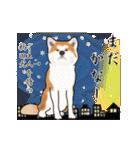 秋田犬の年末年始スタンプ(個別スタンプ:19)