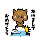 いのさんのあけおめスタンプ(個別スタンプ:02)