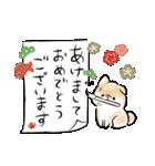 ほんわかしばいぬ<お正月>(個別スタンプ:07)