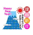 富士山の年末年始ごあいさつ(個別スタンプ:10)