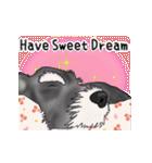 シュナウザー犬の年末年始スタンプ(個別スタンプ:8)
