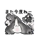 シュナウザー犬の年末年始スタンプ(個別スタンプ:23)