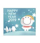 まるぴ★の年末年始2019(個別スタンプ:01)