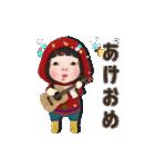 【動く】レッドカッパ#2【年末年始】(個別スタンプ:13)