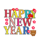 ◆◇あけおめ◇◆正月 2019・亥(個別スタンプ:14)