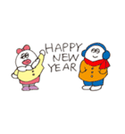 大丈夫なきもちになる 新年もよろしく!(個別スタンプ:3)