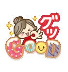 ナチュラルガール♥【年末年始&春】(個別スタンプ:04)