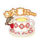 ナチュラルガール♥【年末年始&春】(個別スタンプ:15)