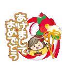 ナチュラルガール♥【年末年始&春】(個別スタンプ:22)