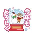 ナチュラルガール♥【年末年始&春】(個別スタンプ:26)