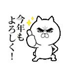 目ヂカラ☆にゃんこ【お正月・年末年始】(個別スタンプ:13)