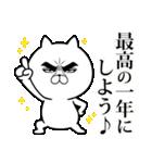目ヂカラ☆にゃんこ【お正月・年末年始】(個別スタンプ:15)