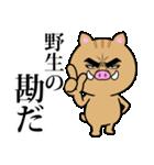 目ヂカラ☆いのしし【2019年お正月・亥年】(個別スタンプ:22)