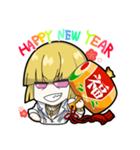 FGOおみくじ年賀スタンプ(個別スタンプ:09)