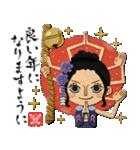 ONE PIECEおみくじ年賀スタンプ(個別スタンプ:08)