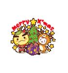 滝ノ道ゆずる クリスマス&年末年始ご挨拶(個別スタンプ:1)