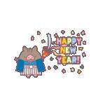 お正月に幸せを伝えるイノシシさん(個別スタンプ:06)