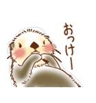 ふわふわラッコ(個別スタンプ:05)