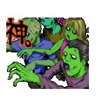 毎日ゾンビ3【仮装で火葬編】(個別スタンプ:29)